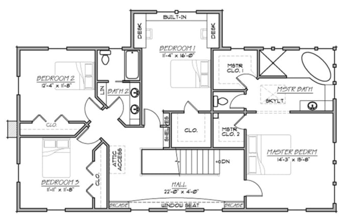 Draw floor plan in auto cad by