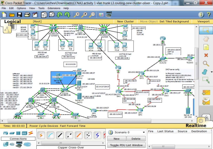 muhammadismaeil : I will do socket programming and cisco packet tracer  simulation for $5 on www fiverr com