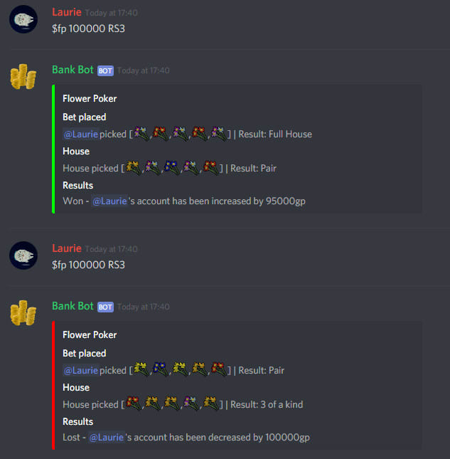 code a nodejs discord bot