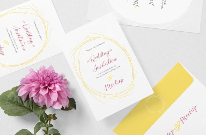 Design Your Birthday Wedding Or Event Invitation Card