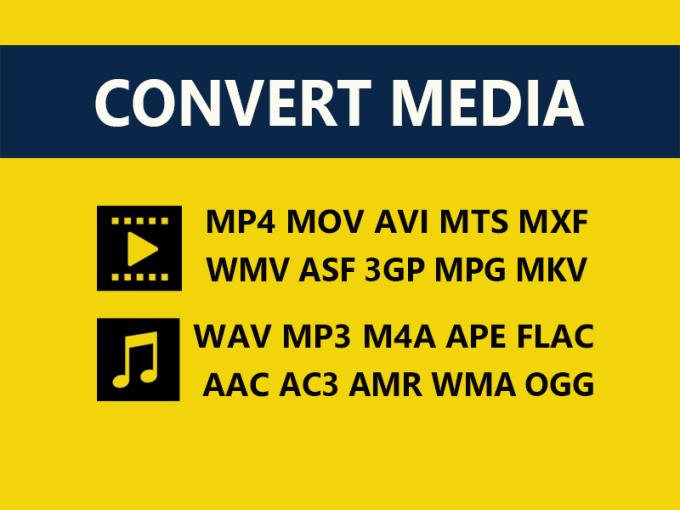 convert video file to mp4 avi wmv audio to mp3 m4a wma wav