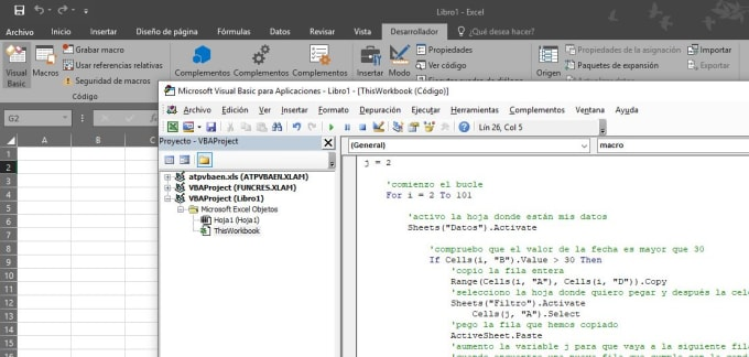 jguillermoe : I will do macro in excel excel vba ms excel formula fast for  $25 on www fiverr com
