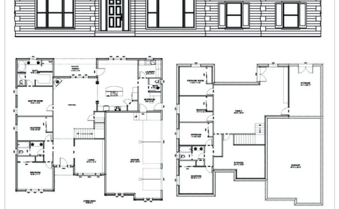 . structural design floor plan any high rise building detailed cad drawing
