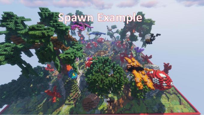 Flower Minecraft Build - Flowers Healthy
