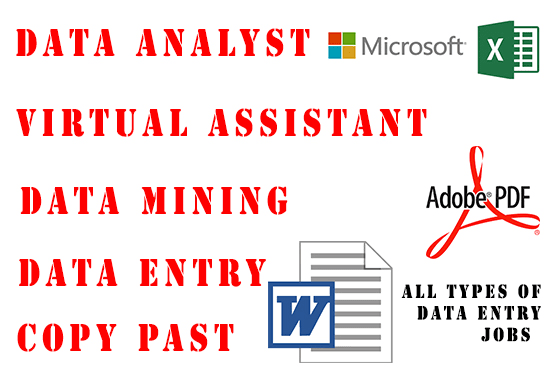 create excel sheet and data entry