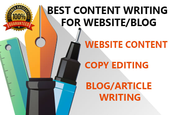 be your professional content writer for websites or blogs
