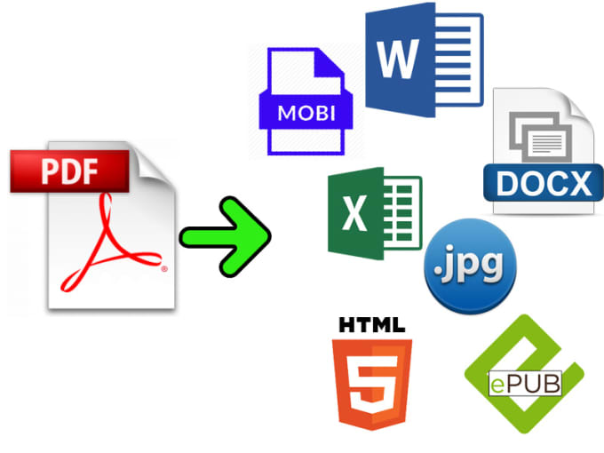 skynet33 : I will convert PDF to any format very fast for $5 on  www fiverr com