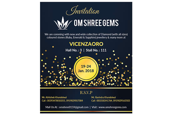Khunteta Abhi I Will Provide You The Best Invitation Cards At Just Dollar 4 For 5 On Www Fiverr Com