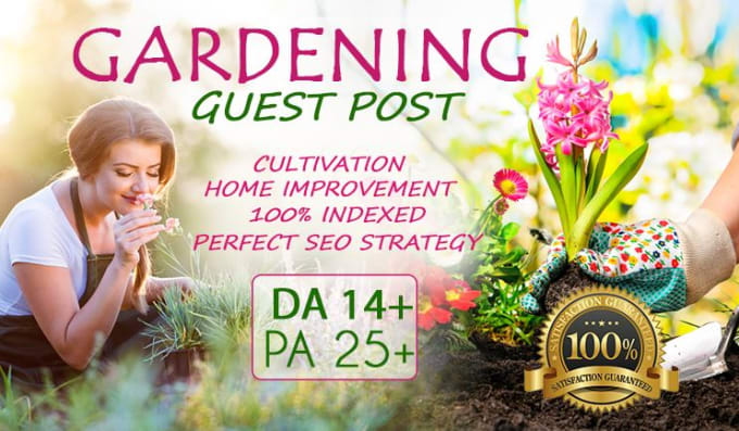 submit a guest post with dofollow backlink on a da 14 home and gardening  blog