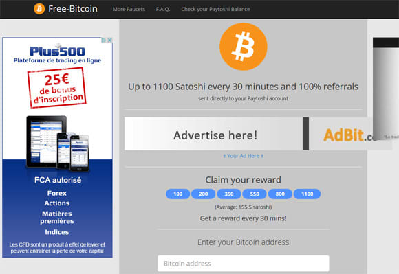 Make Free Bitcoin Faucet For You -