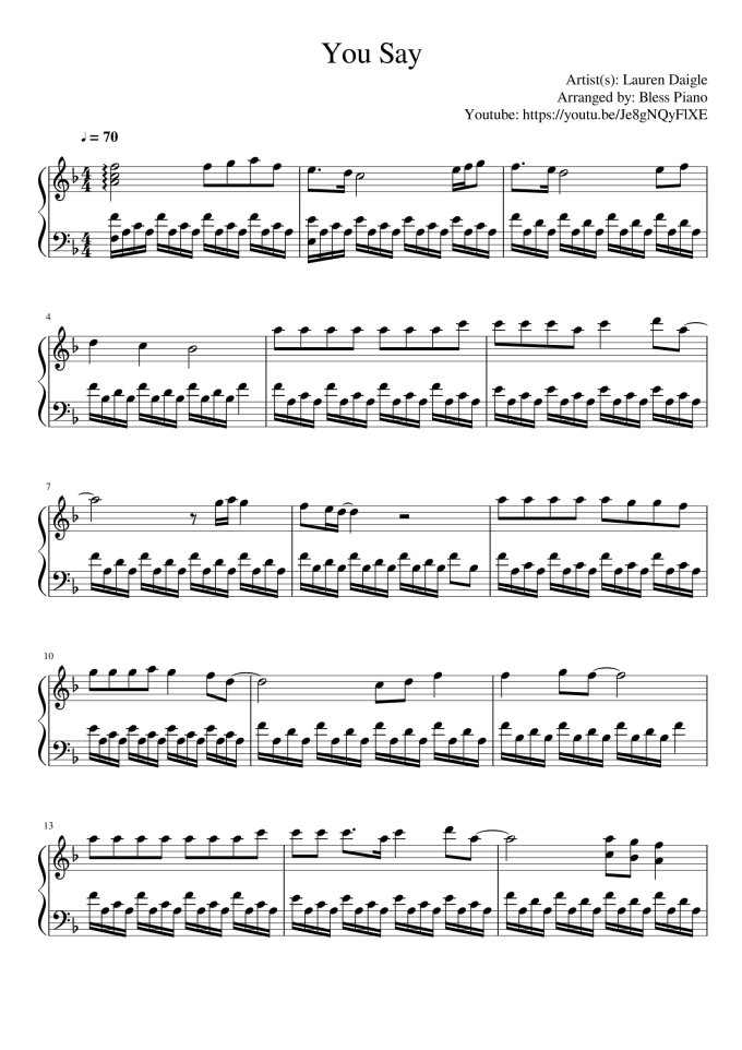 do music transcription in grand staff with musescore