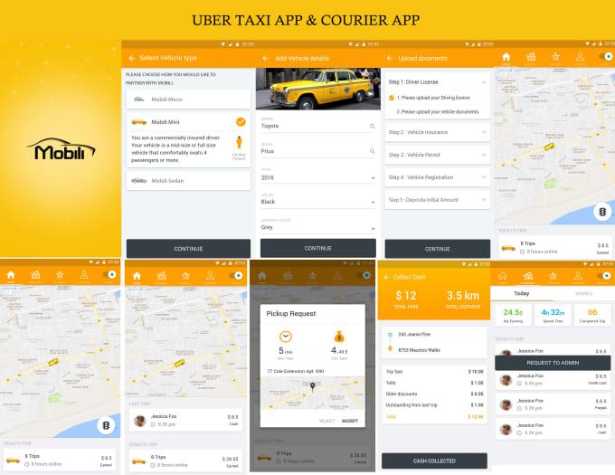 develop app like uber delivery,food delivery,grocery deliver