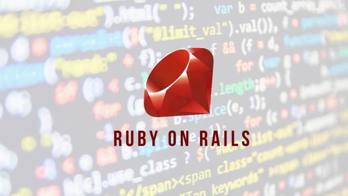 create ruby on rails applications and fix bugs