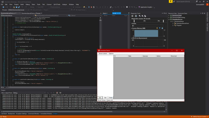 create a windows desktop application