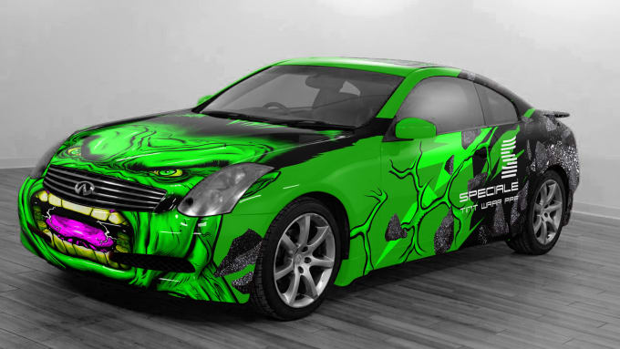 Design A Car Wrap Vehicle Wrap As You See Fit
