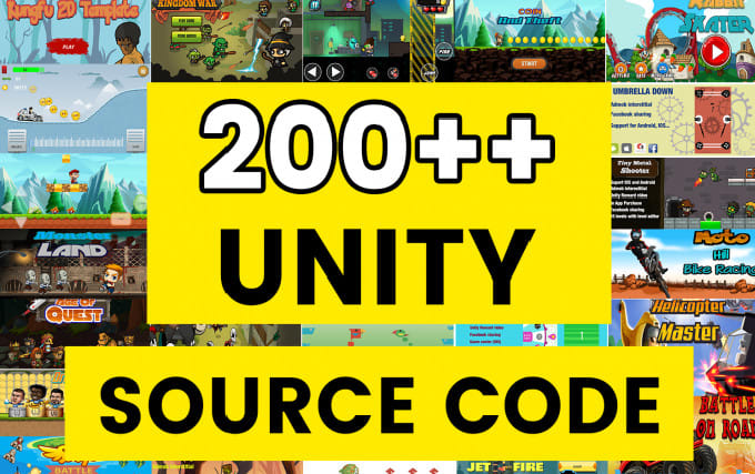 give you source code unity games