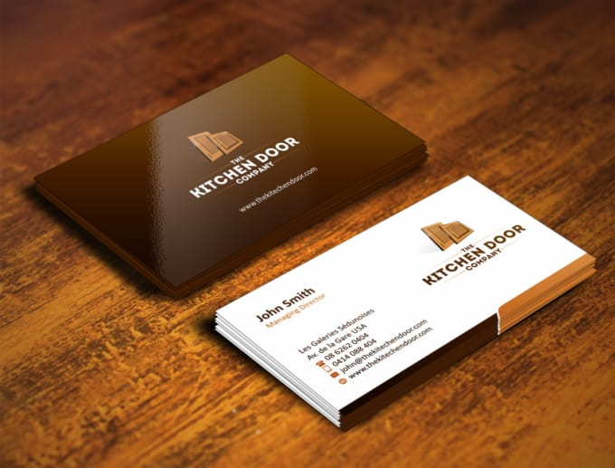 Design Business Card Minimal And Elegant For You By Yusuf456