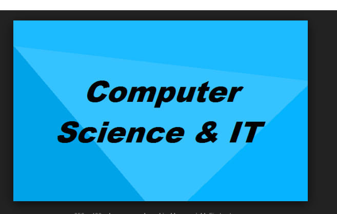 do computer science and information technology articles and blogs