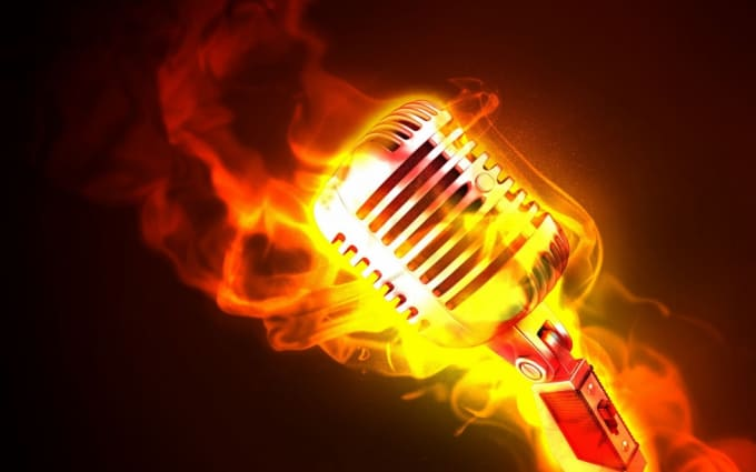 ubiquitousmulti : I will rap over your instrumental beats for $5 on  www fiverr com