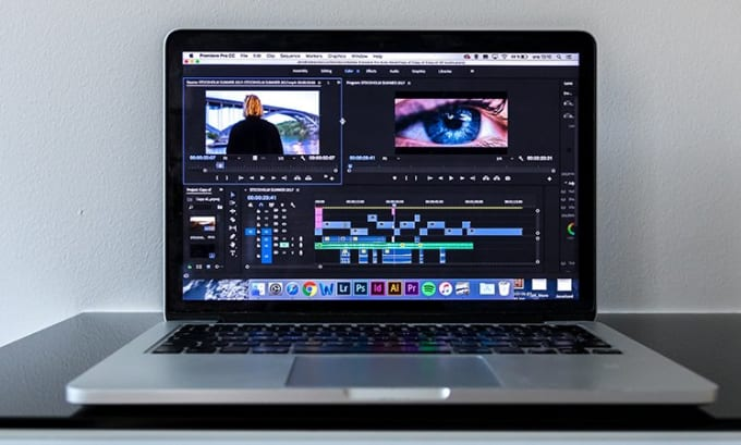 do video editing , converting,resize cutting adding after effect