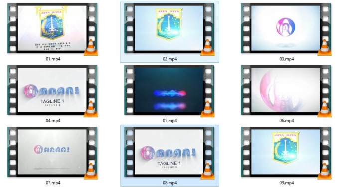 customize logo animation from shareae for you