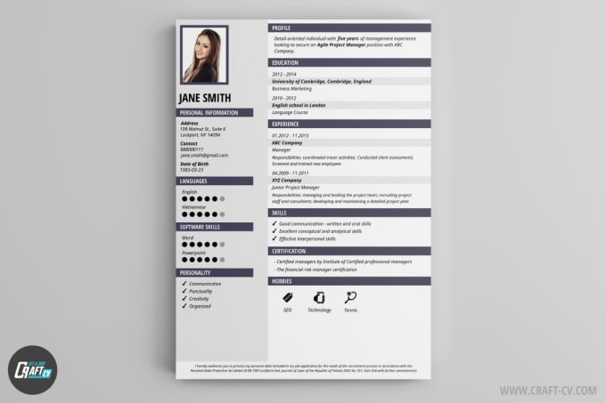 Make Cv And Invitation Card For You