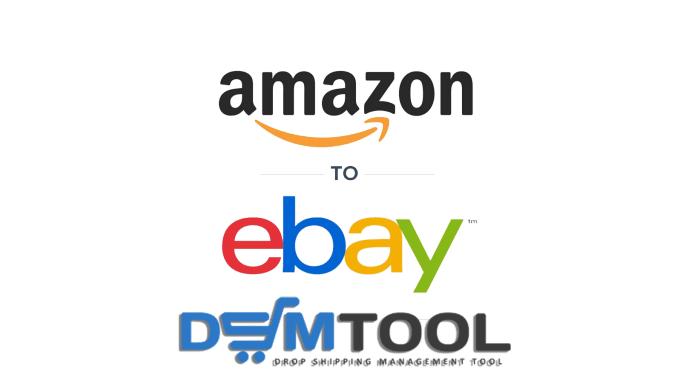 do dropshipping listing amazon to ebay via dsm tool