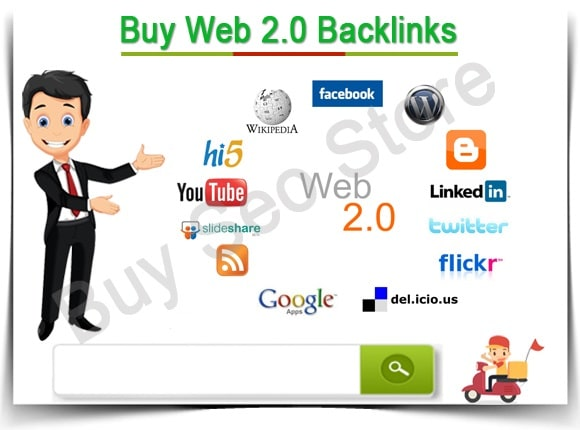 create 20 high quality web 2,0 backlinks with login details