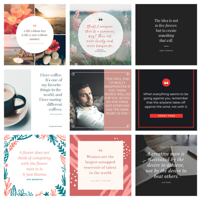 Design Images With Motivational Quotes For Your Social Media