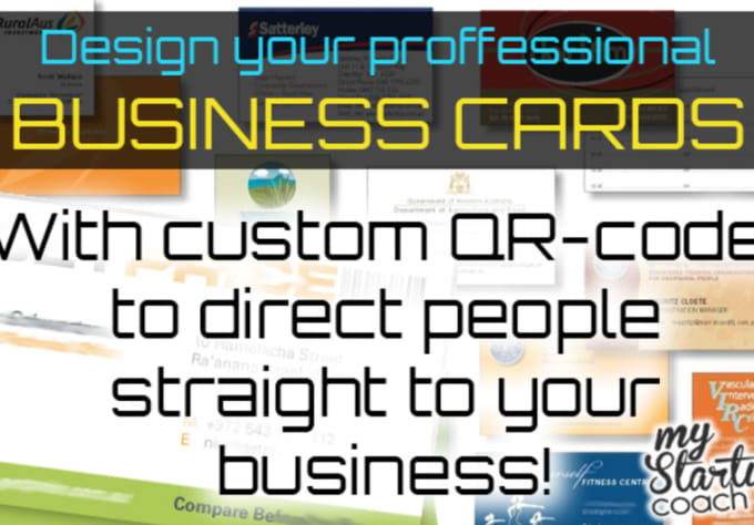 Design a professional business card with qr code by johnbta design a professional business card with qr code colourmoves