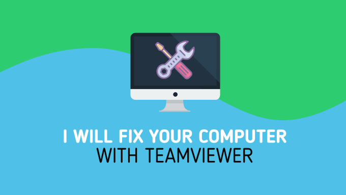 fix your computer with teamviewer