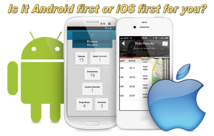 do android and IOS mobile application development