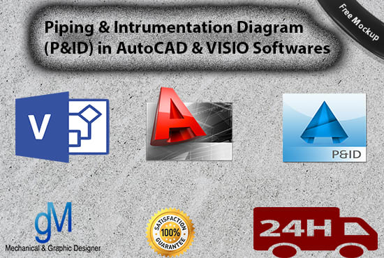 i will draw piping and instrumentation diagram pid in autocad