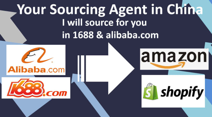 kaijiezhu : I will source chinese supplier in alibaba 1688 for your amazon  shopify dropshipping for $10 on www fiverr com