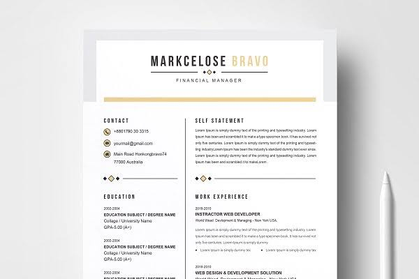 create, edit and design your resume, cv, and cover letter