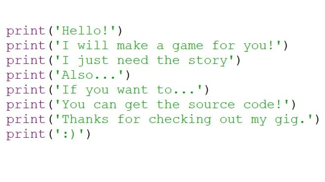 make a choose your own adventure game in python