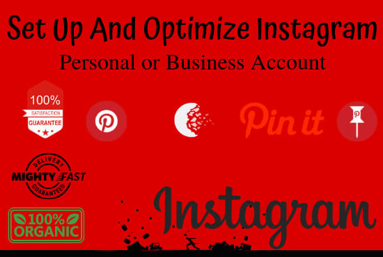 set up and optimize your personal or business pinterest