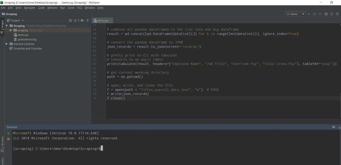 fix your python code and will do any python task