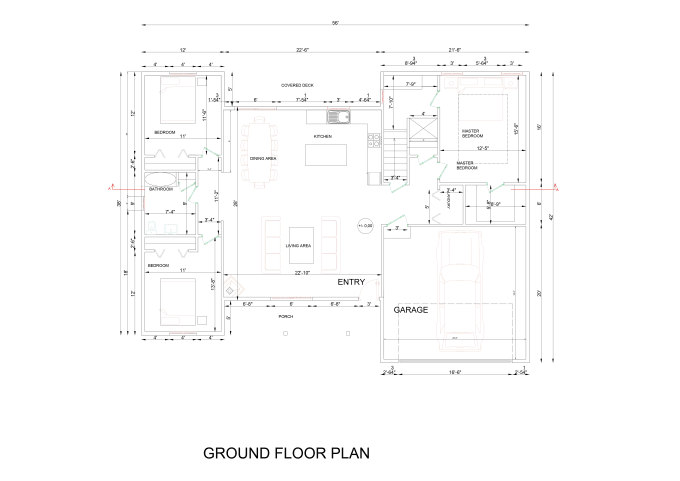 Draw architectural floor plans for your
