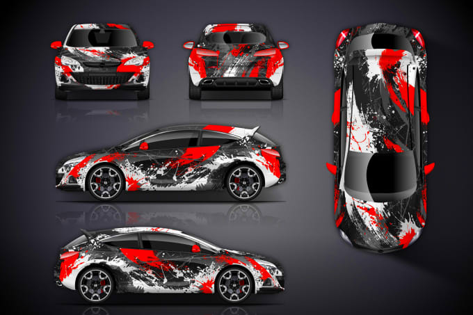 Design Professional Car Wraps Design By Promenusrat