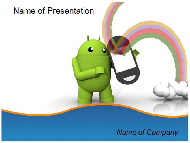 Android Ppt Template For Powerpoint Presentation By Templatesvision