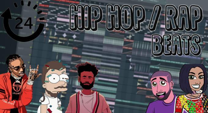 produce chill,trap,hip hop instrumental beats