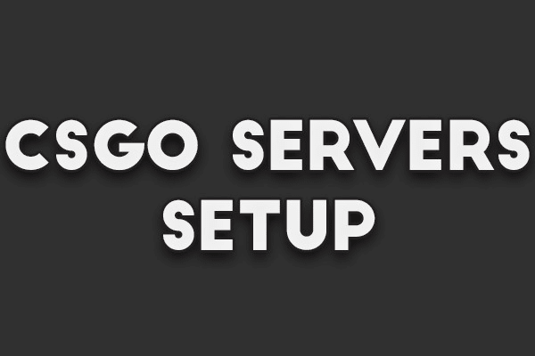 setup csgo servers with sourcemod or others