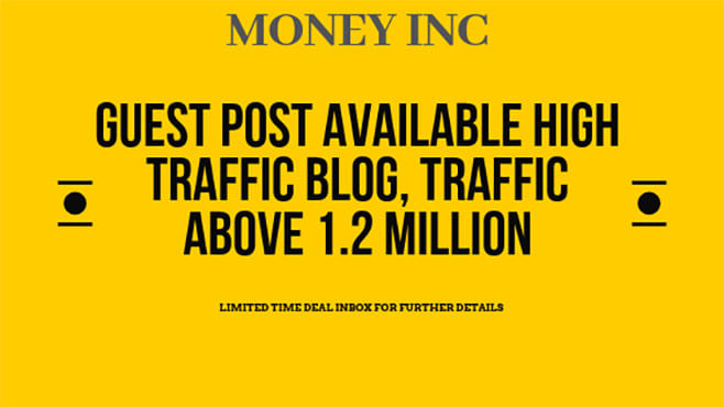 do guest post at money inc