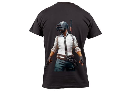 caa89cc8 Create fabulous pubg t shirt designs and mockups by Safiullahjamil