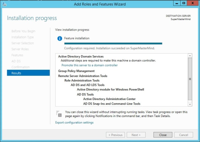 install adds, dhcp and wds in your windows server pcs