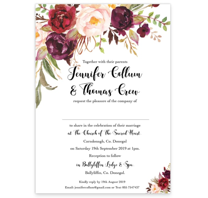 Design Birthday Party Christmas Wedding Event Invitation Cards