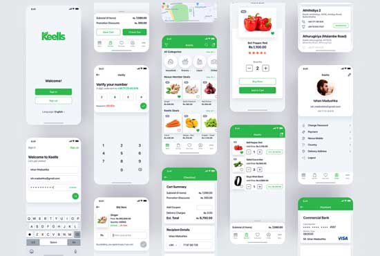 design mobile ui ux app design ios android