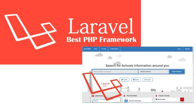 developed laravel,php, word press,joomla,magento apps