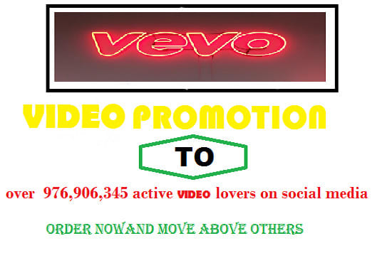 do vevo video promotion to millions of viewers